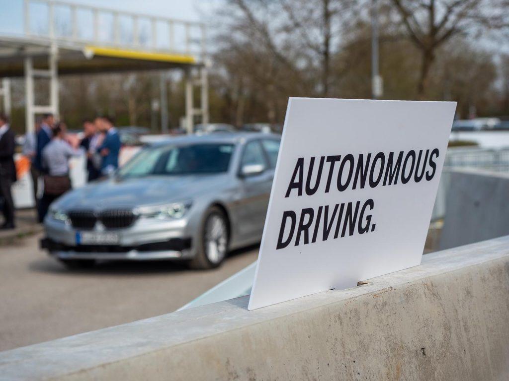 BMW 7er iNext BMW Autonomous Driving Campus