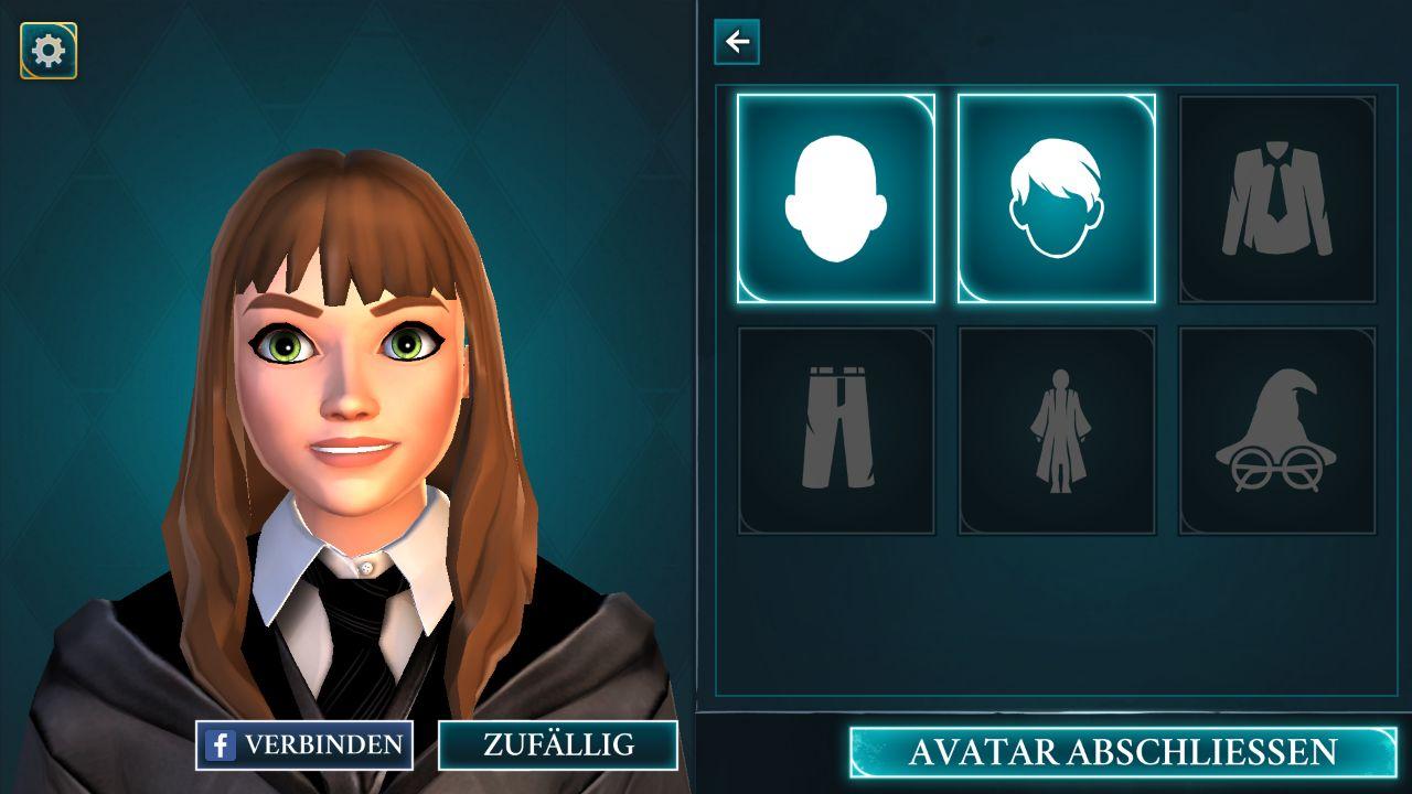 Harry Potter Hogwarts Mystery - Screenshot by Lisa Kneidl