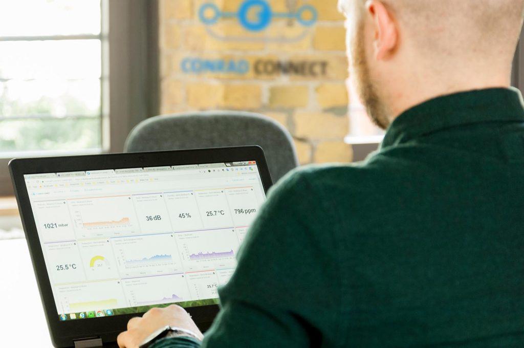 Smart Home Dashboard Conrad Connect
