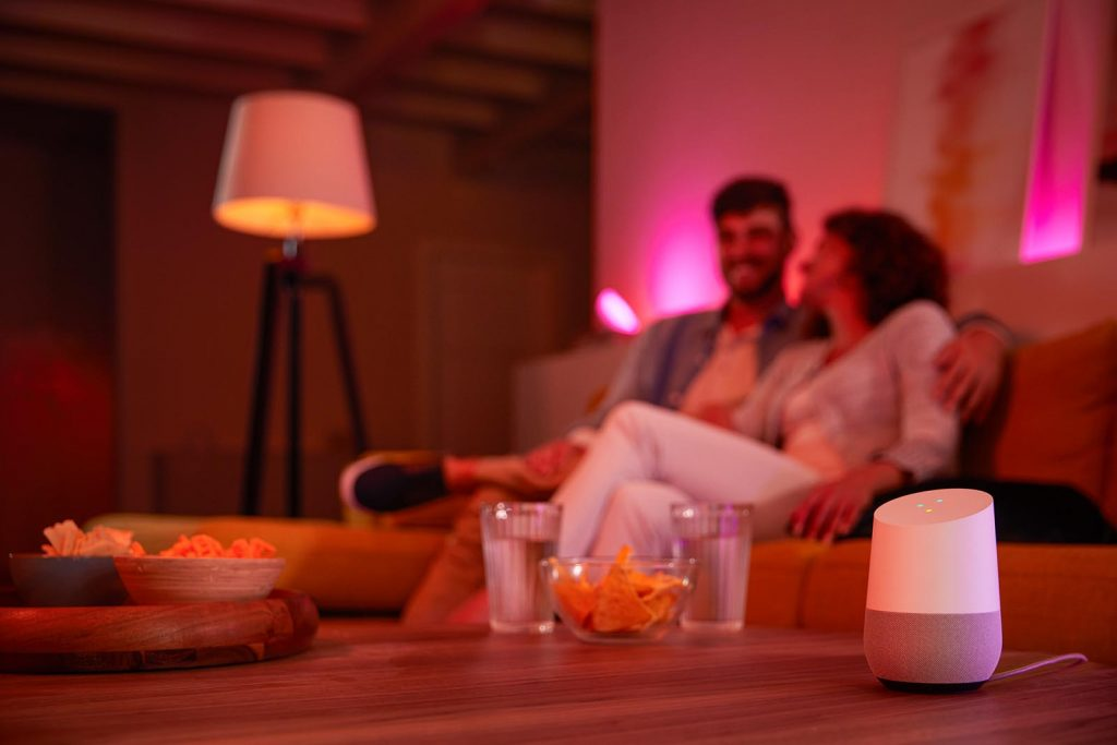 Philips Hue und Google Home