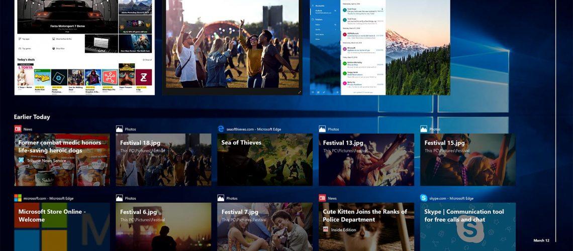 Windows 10 April 2018 Update Timeline