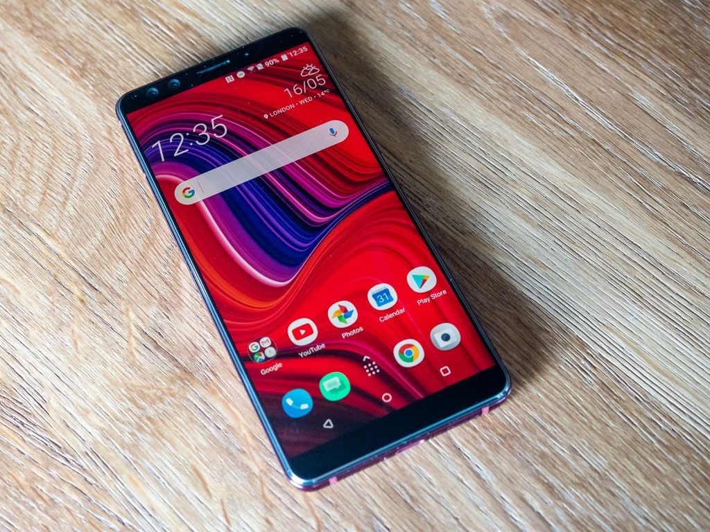 HTC U12+ Display Flame Red