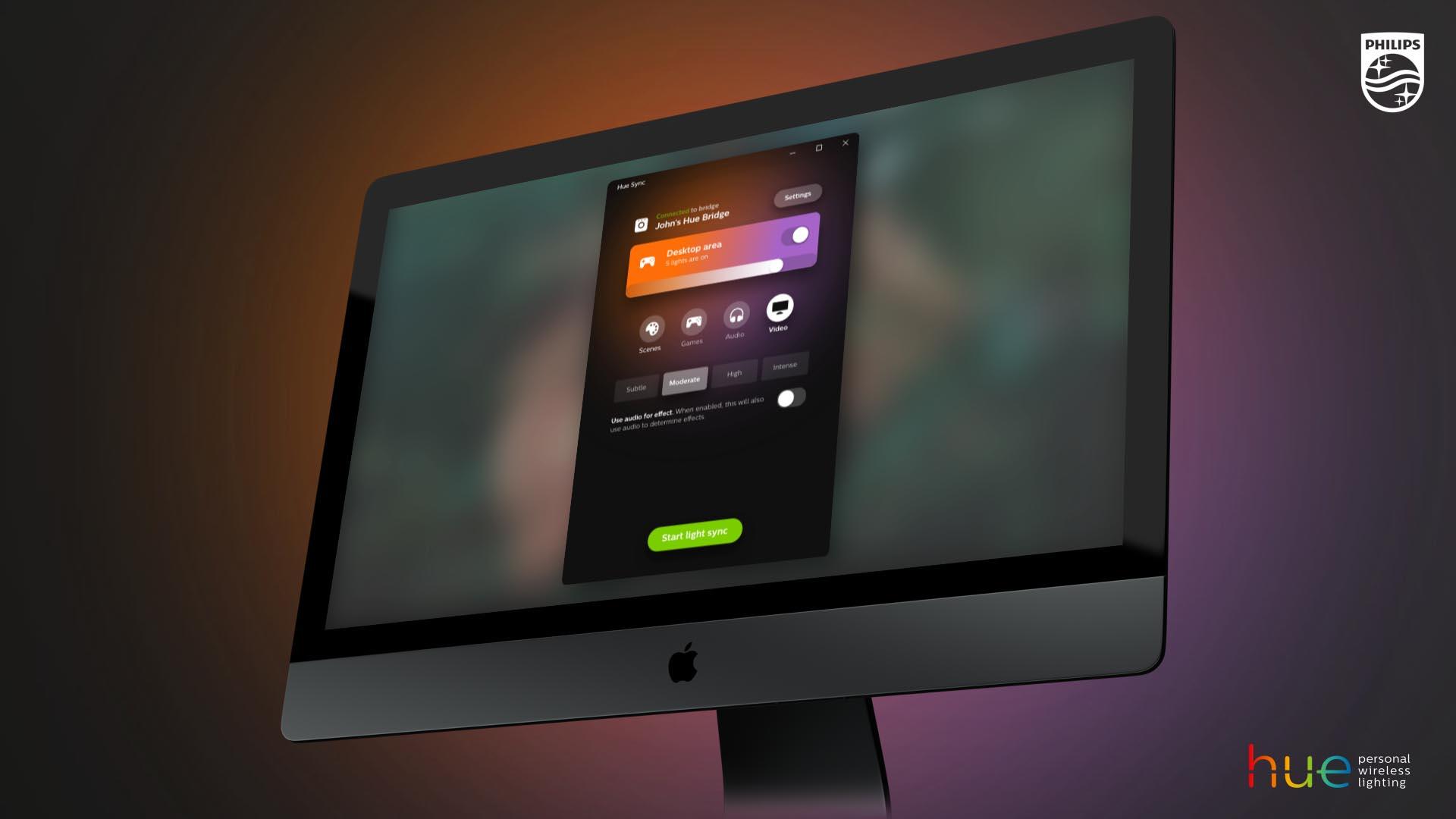 Starten Philips Hue : Philips hue sync im test ambilight für den computer ausprobiert