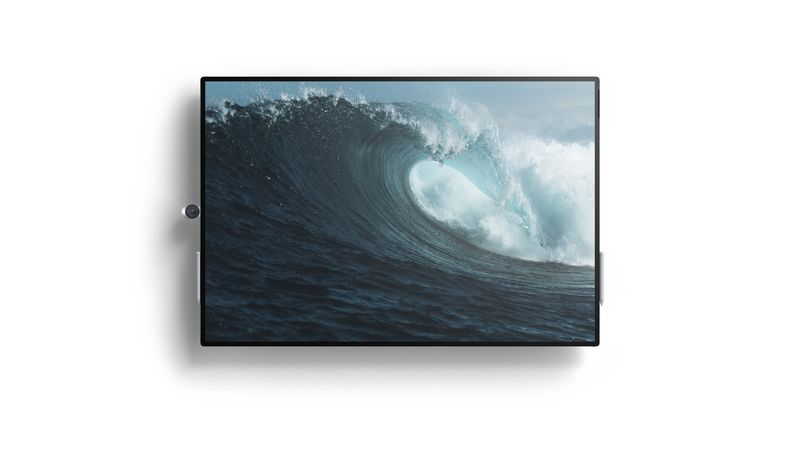 Surface Hub 2 Landschaft ebenfalls