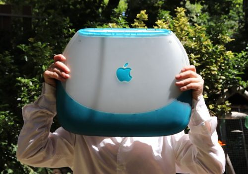 iBook G3 Clamshell Deckel