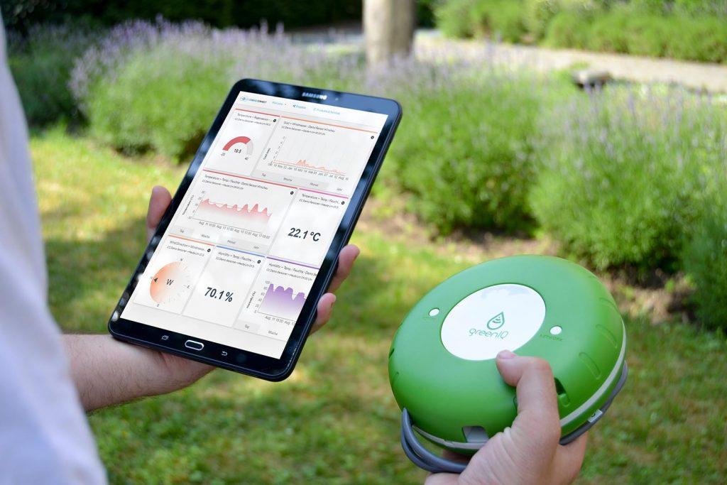 Smart Living und Smart Gardening mit Conrad Connect