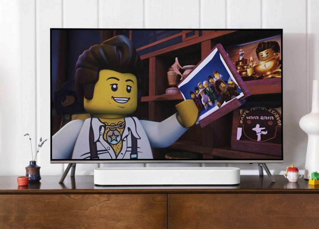 Sonos Beam weiß Alexa Fernseher