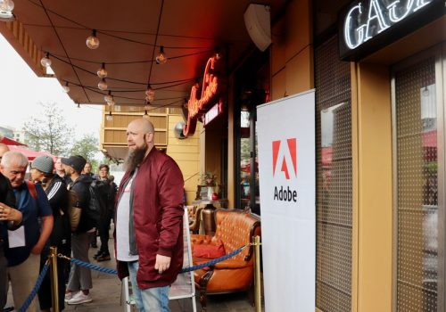 Adobe FutureOfDesign Aufzug