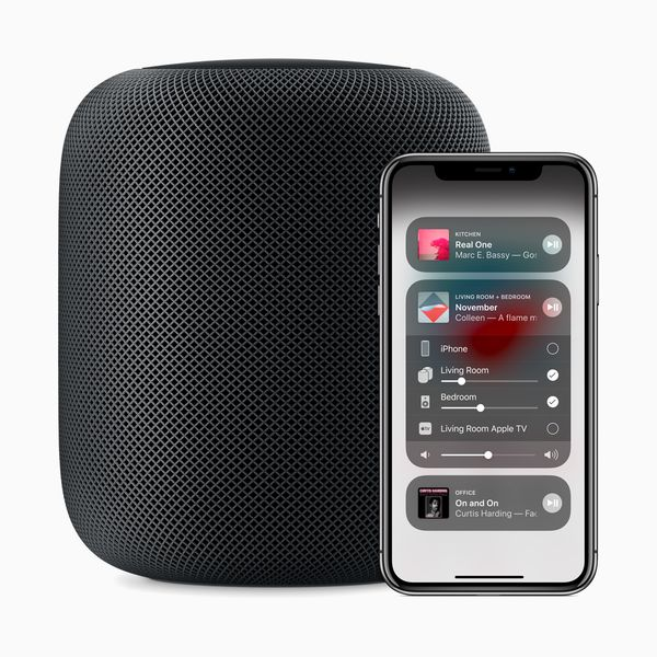 HomePod Kontrollzentrum