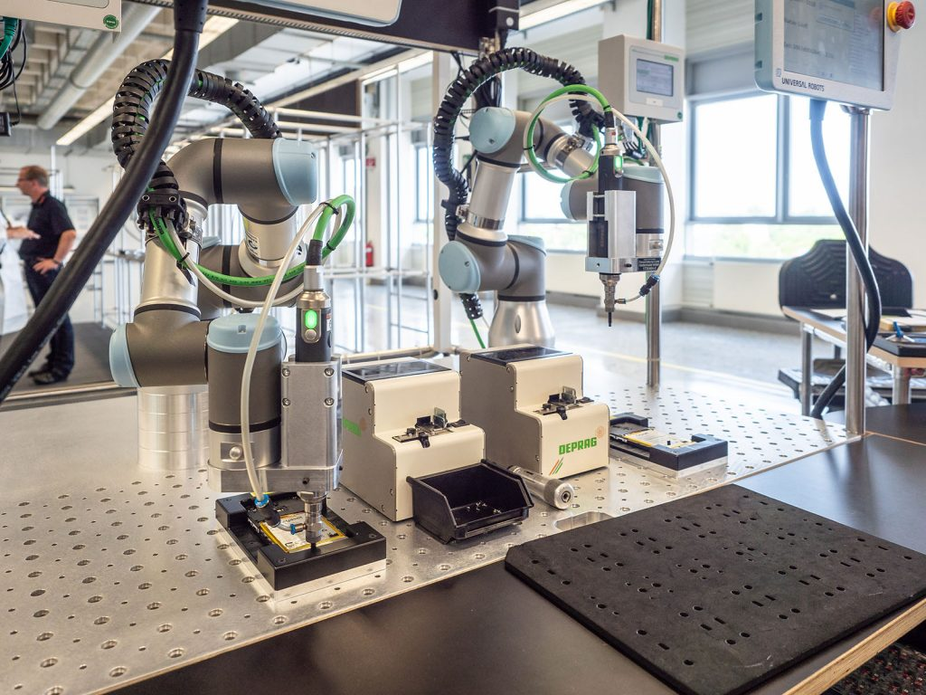 Gigaset Industrie 4.0 Roboterarme