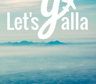 Let's Yalla Homescreen