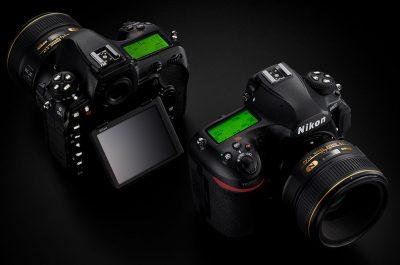 Neue spiegellose Vollformatkamera mit dem Look der Nikon D850?