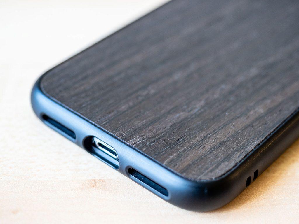 Rhinoshield SolidSuit dunkler Nussbaum iPhone X