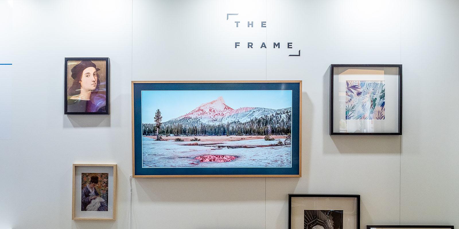 Samsung The Frame 2018: Dieser bildhübsche Design-Fernseher hat ...