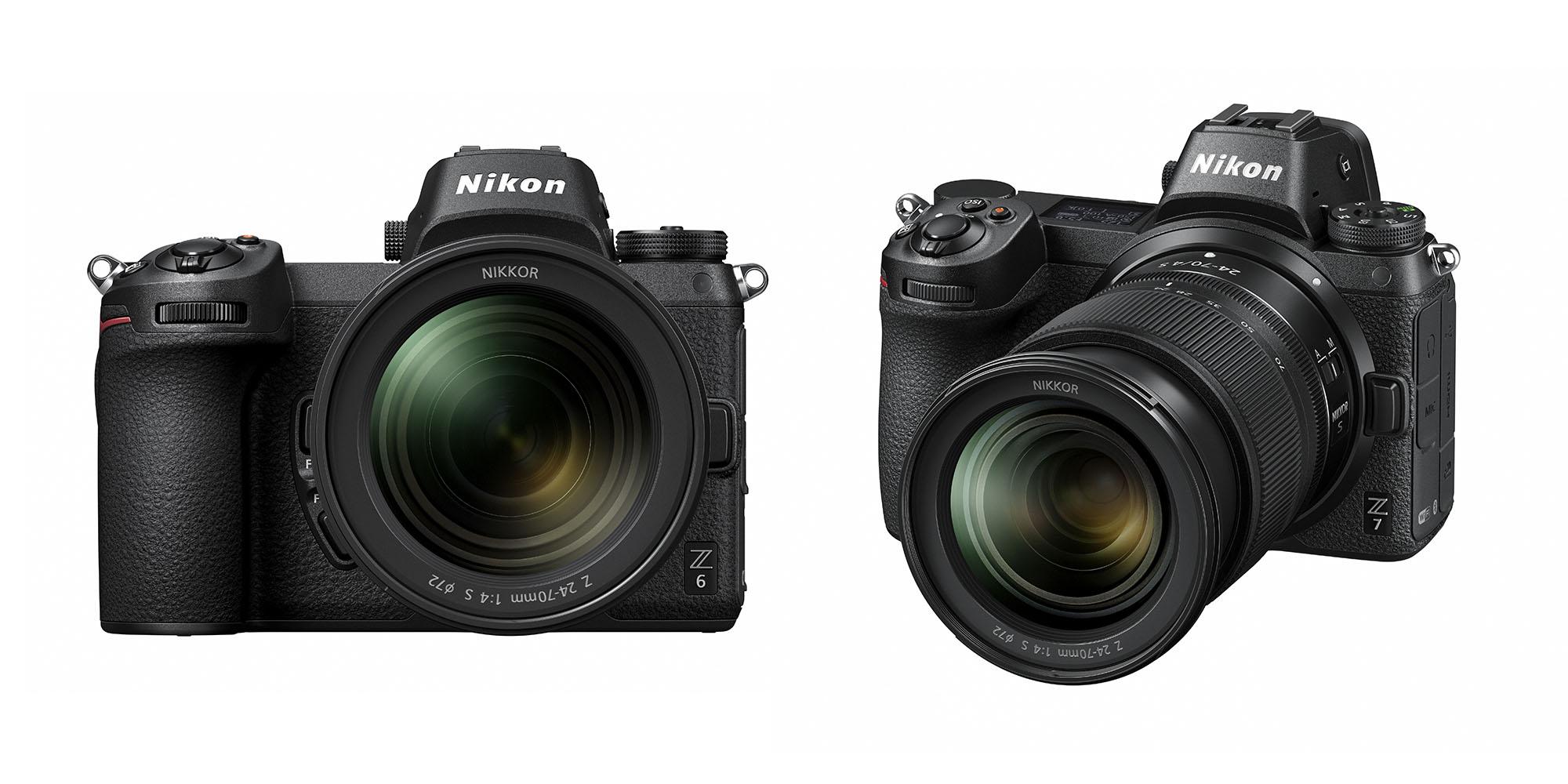 Nikon Z: Zwei Kameras und drei Objektive fürs spiegellose Vollformat ...
