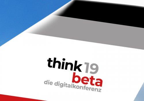 think.beta 19 Titelbild