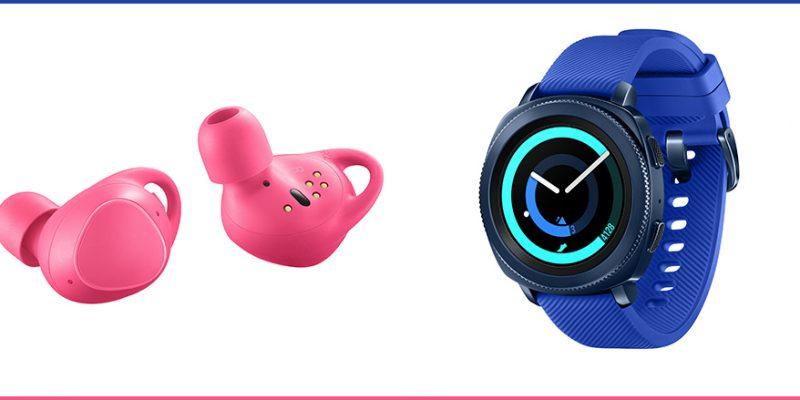 Samsung Gear Sport und Gear IconX (2018)