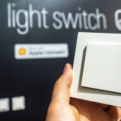 Eve Light Switch IFA 2018 Eve Systems