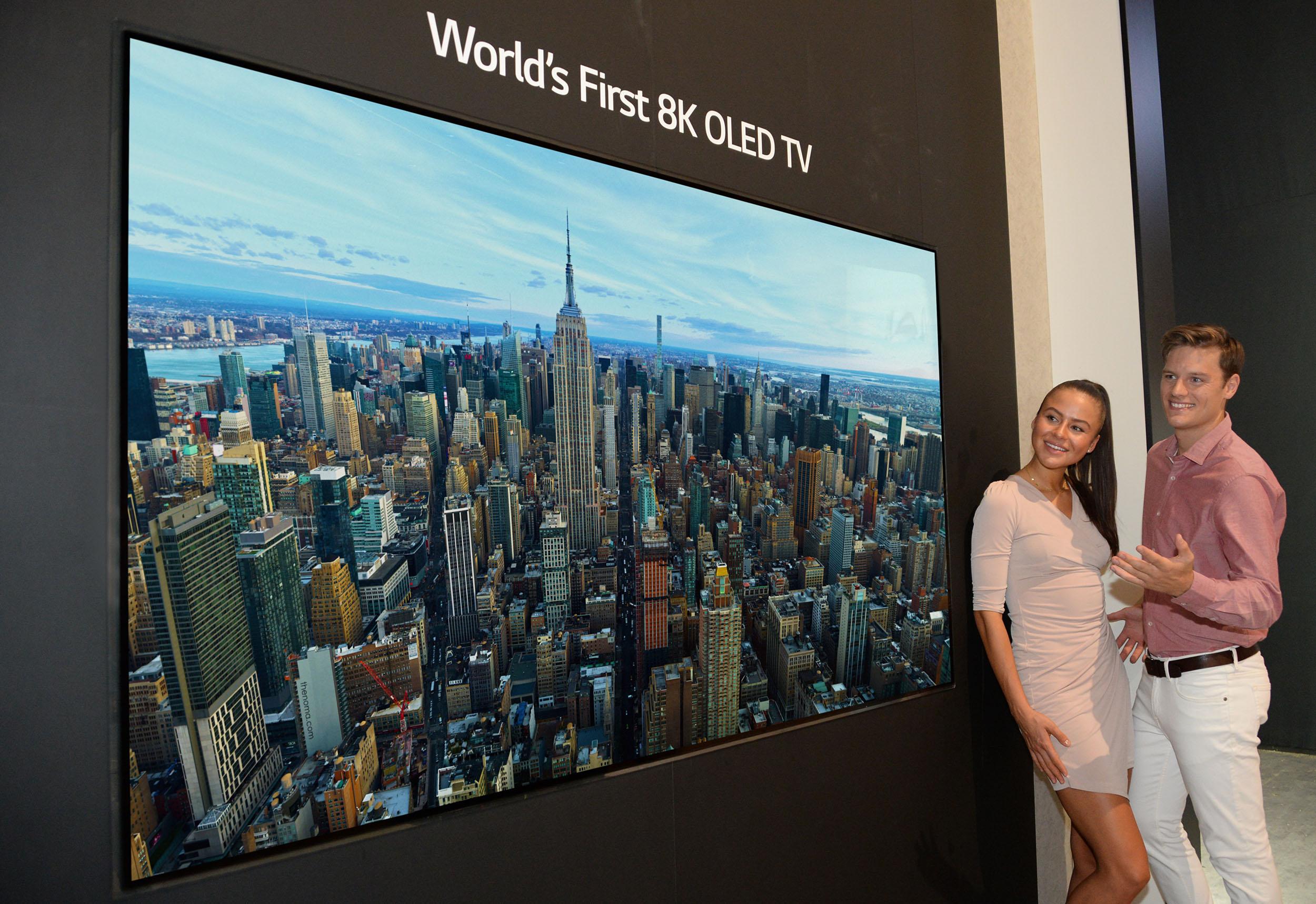 LG 8K OLED TV IFA 2018