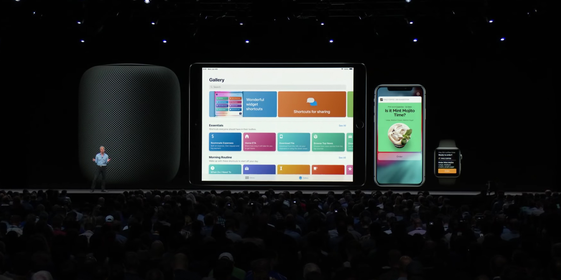 Siri Kurzbefehle HomePod iPad iPhone Apple Watch