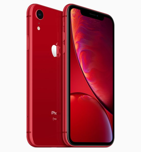 iPhone XR red back by Apple