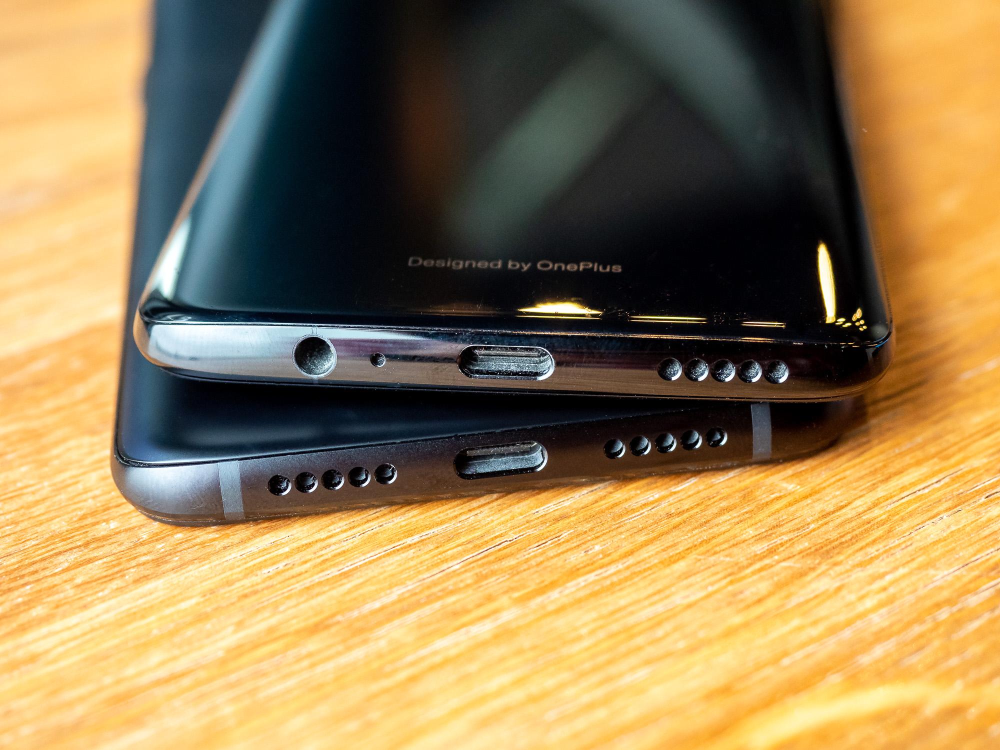 OnePlus 6T und OnePlus 6 - mit und ohne Klinkenstecker