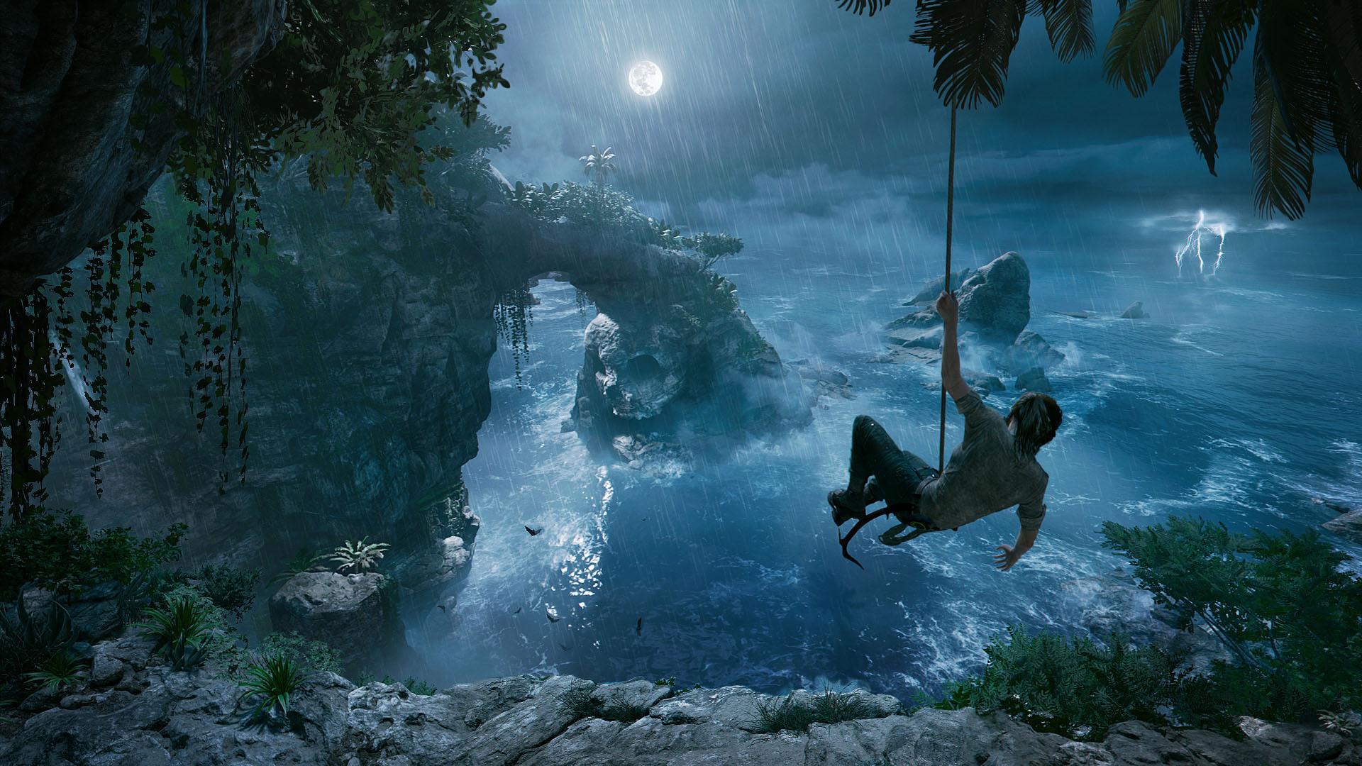 Shadow of the Tomb Raider Klettern Wurfhaken