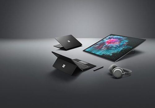 Surface Pro 6 - Surface Laptop 2 - Surface Studio 2 - Surface Headphones