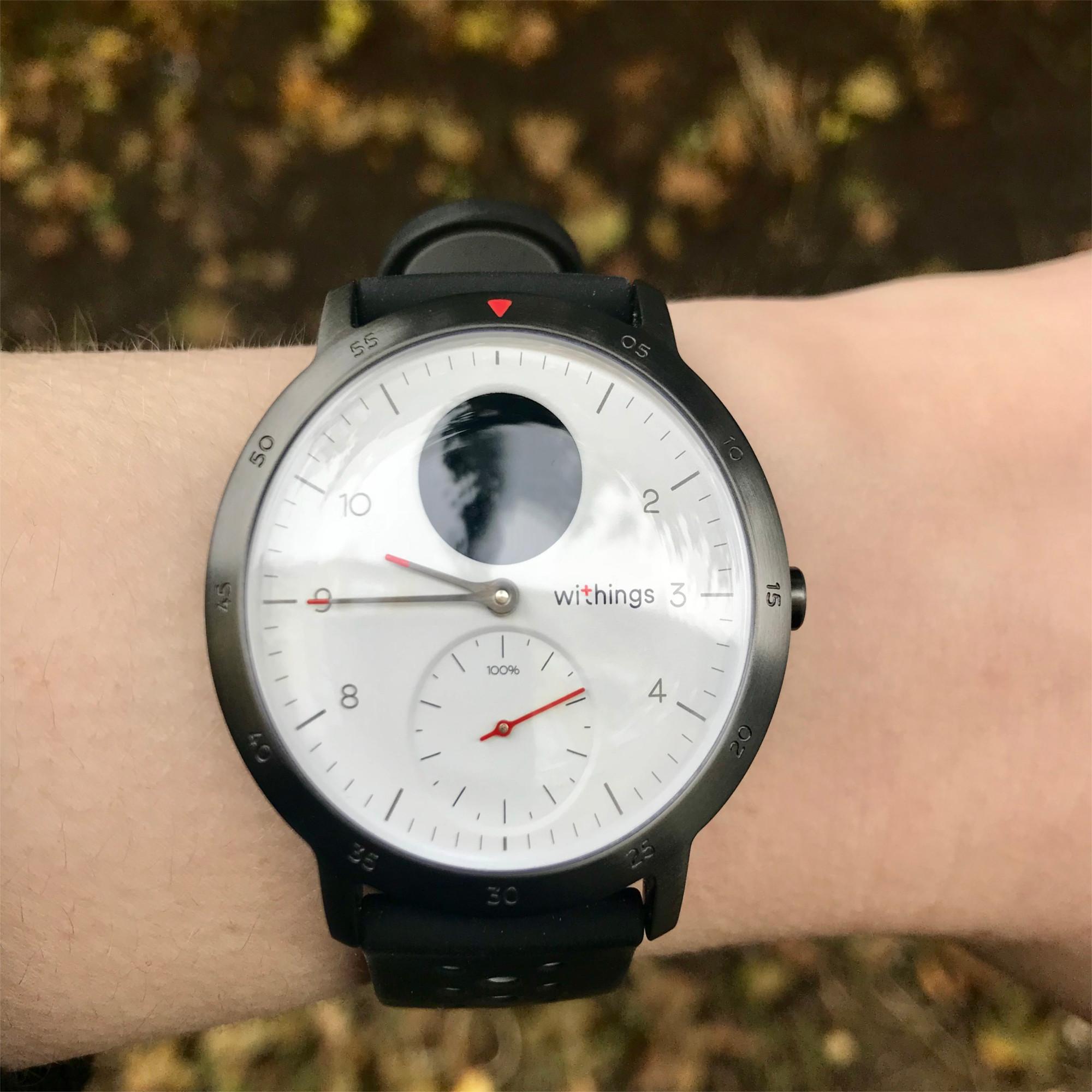 Im Test Die Smartwatch Steel Hr Sport Von Withings Netzpilotende