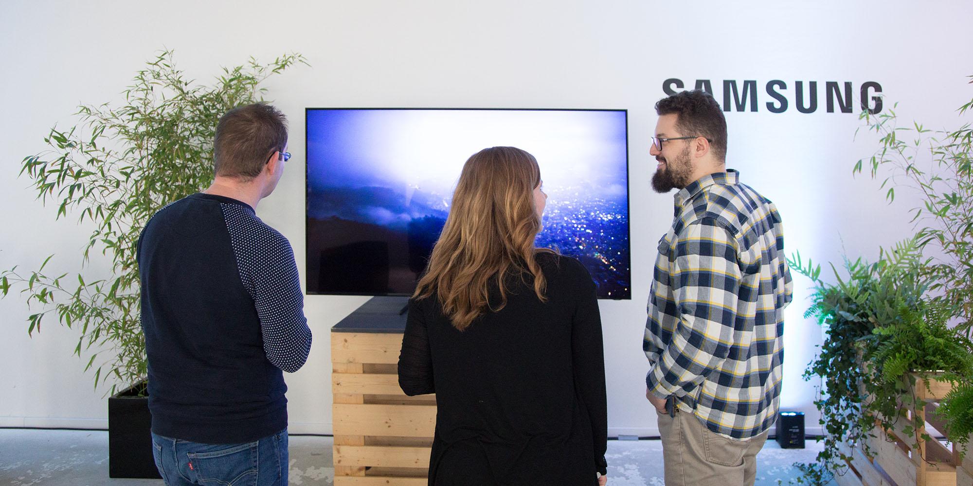 Samsung Q900 8K-Fernseher Hands-On