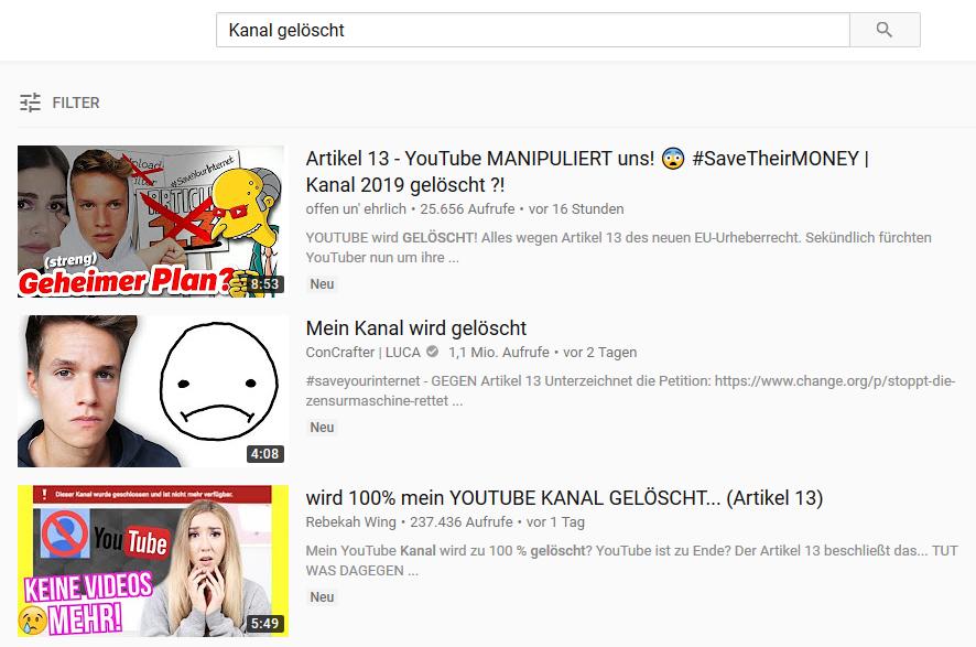 Warum Wird Youtube Gelöscht