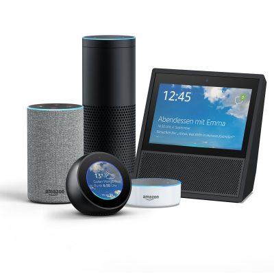 Amazon Echo Vergleich