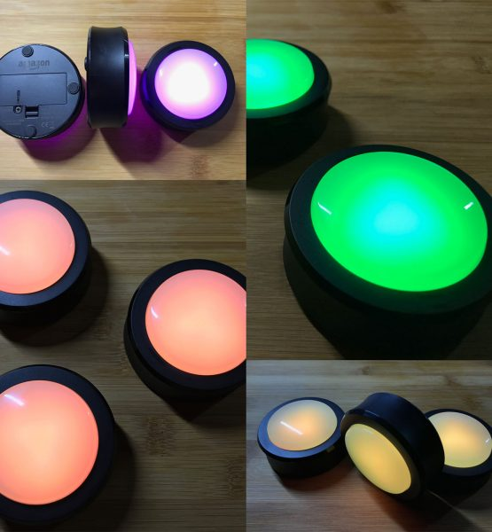 Amazon Echo Buttons Test Collage