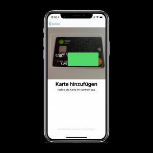 Apple Pay einrichten - Schritt 3