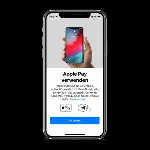 Apple Pay einrichten - Schritt 5