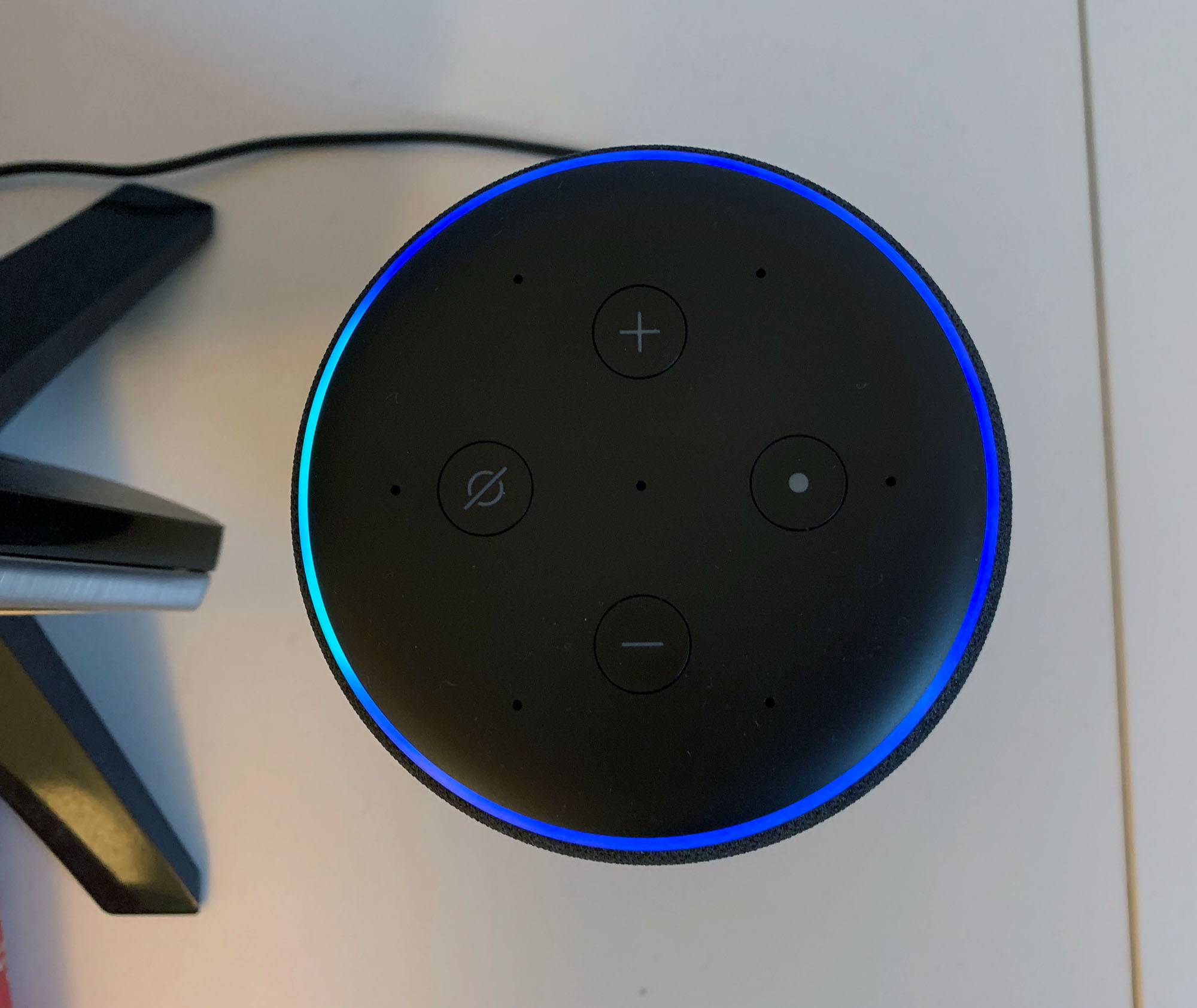 Amazon Echo Plus 2 Oberseite