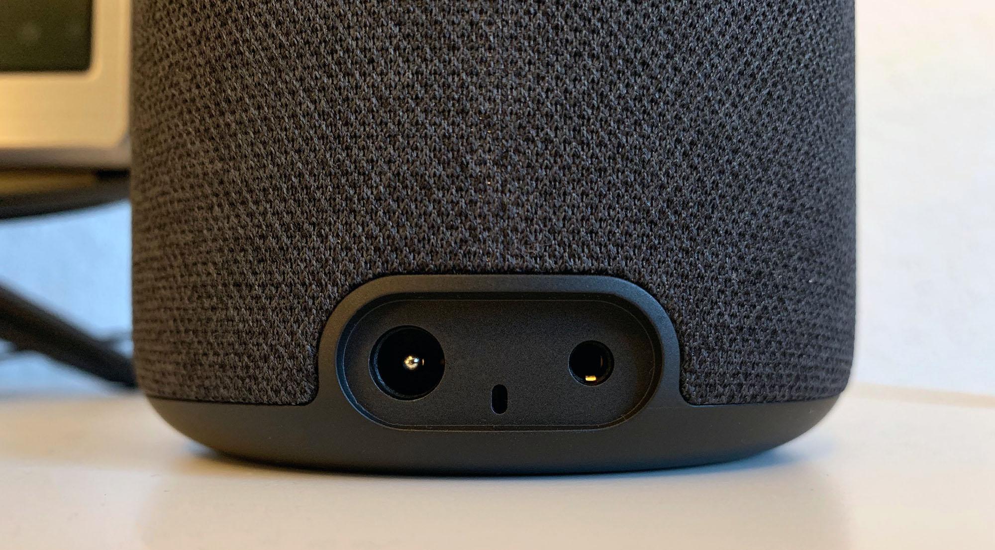 Amazon Echo Plus 2 Anschlüsse