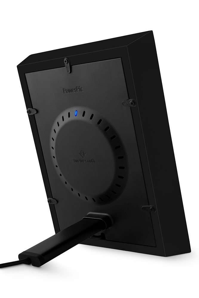 Twelve South PowerPic Schwarz Hinten