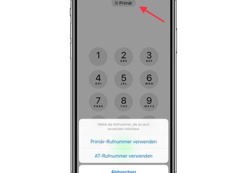 iPhone Dual-SIM verwenden