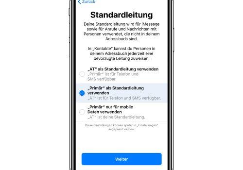 Dual-SIM auf dem iPhone einrichten