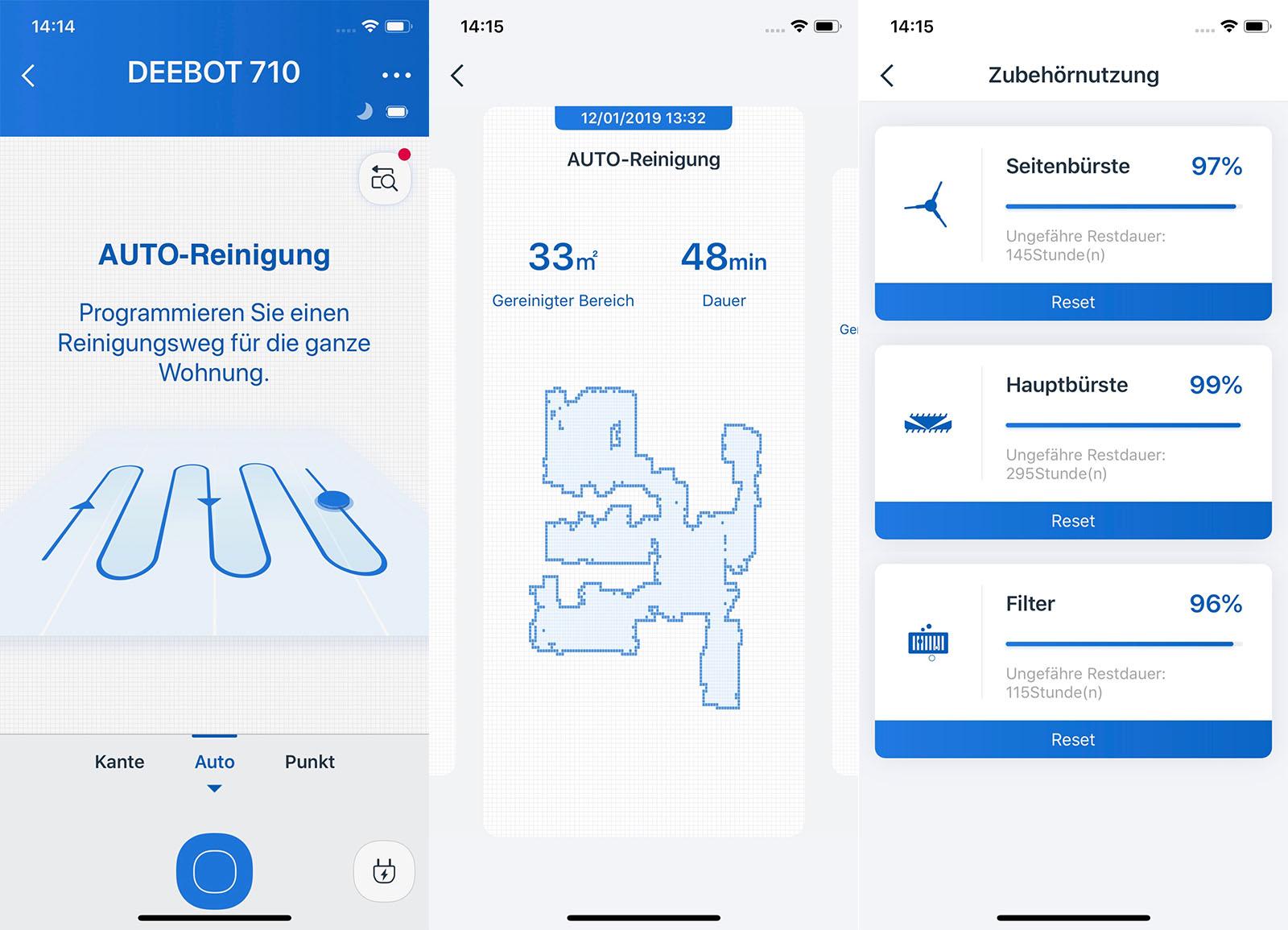 Ecovacs Deebot 710 Ecovacs Home App