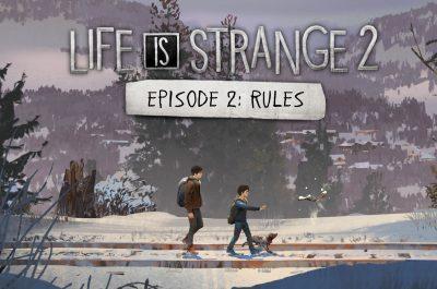 Life Is Strange 2 Test Episode 2 Rules