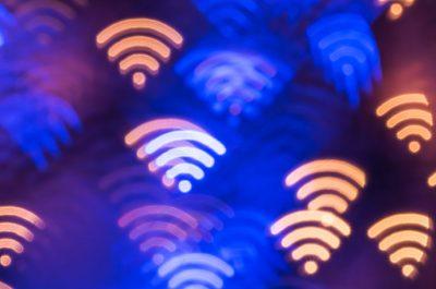WiFi Lifi Licht Symbolbild