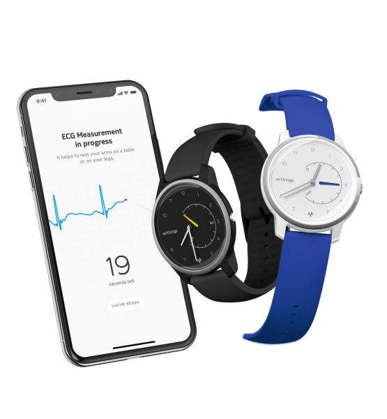 Withings Move ECG Health Mate App