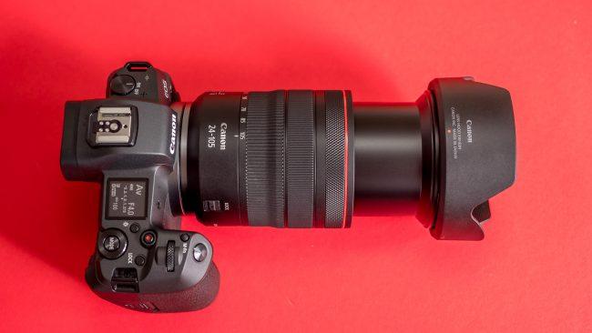 Canon EOS R im Test von oben