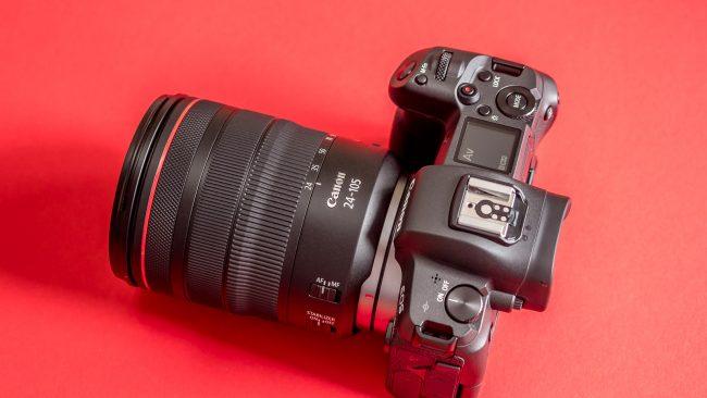 Canon EOS R im Test seitlich oben