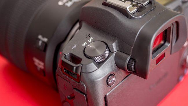 Canon EOS R An-/Aus-Schalter