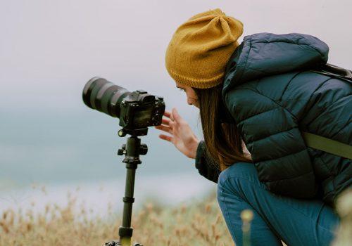 Symbolbild Filmen mit der Fotokamera