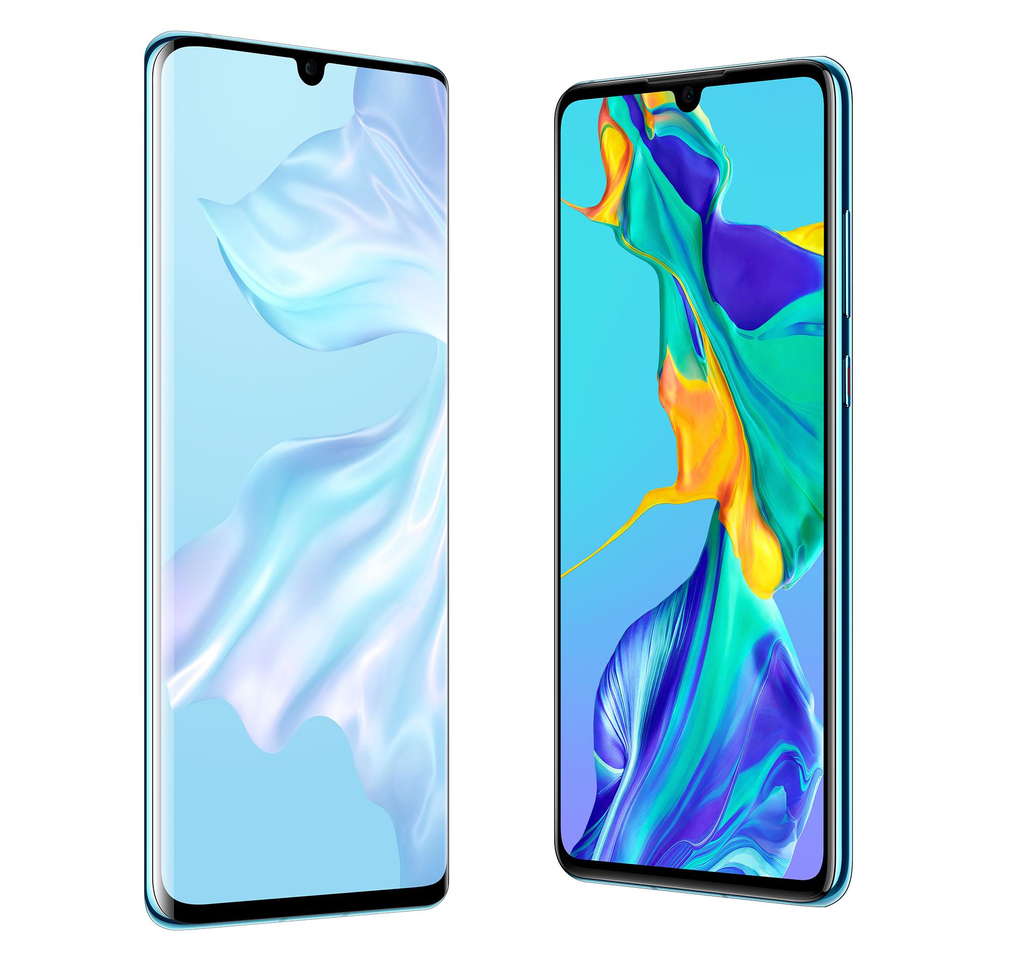 Huawei P30 Pro und P30 Display-Vergleich