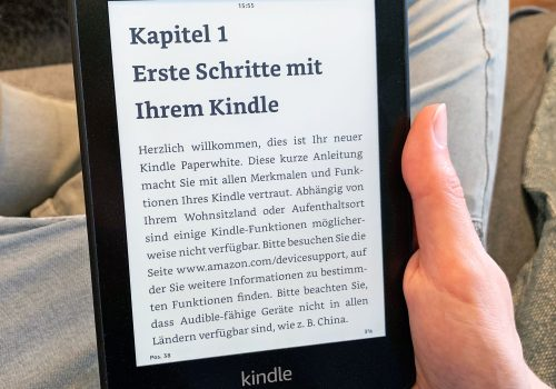 Kindle Paperwhite 2018 im Test